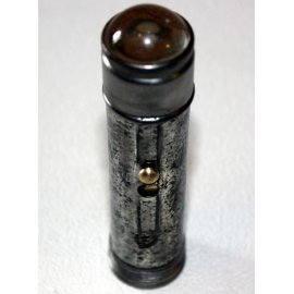 Lampe de poche loupe, ancienne
