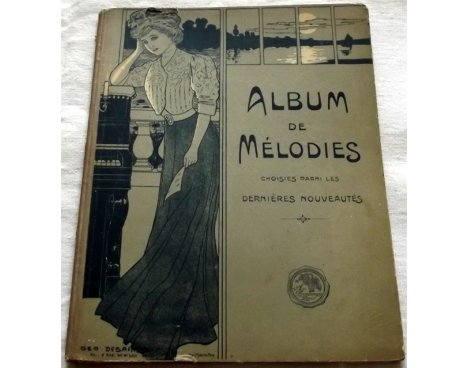 Album de mélodies - Partitions