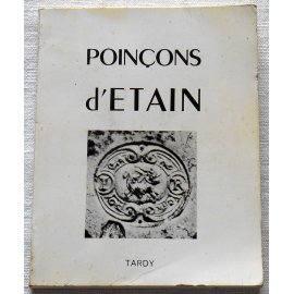 Poinçons d'étain - Tardy - 1968