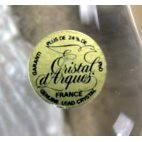 Presse-papier chouette Cristal d'Arques