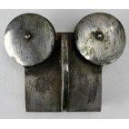 Chouette en acier massif, ancienne