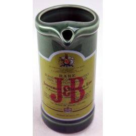 Carafe publicitaire J&B, ancienne