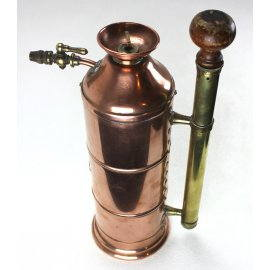 pulvérisateur en cuivre, ancien