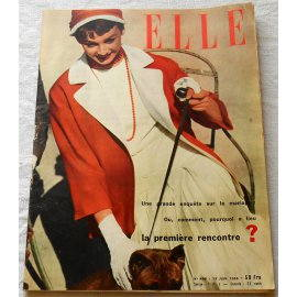Magazine Elle N° 461 du 11 Octobre 1954