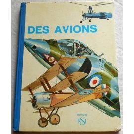 Des Avions - Éditions RST, 1971