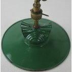 Lampe à gaz électrifiée, ancienne