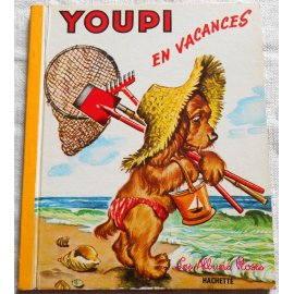 Youpi en vacances - Les Albums Roses, Hachette 1953