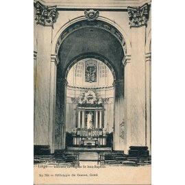 Liège - Intérieur de l'Église Saint-Jean-Baptiste