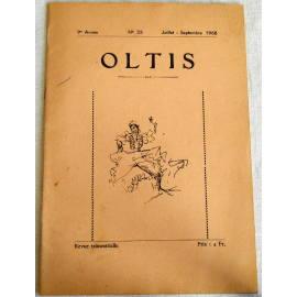 Revue OLTIS, N° 33, Juillet-Septembre 1968