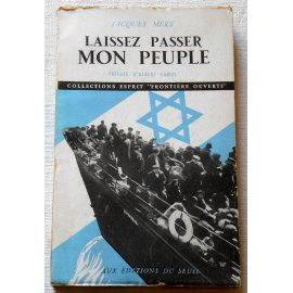 Laissez passer mon peuple - J. Mery - Éd. du Seuil, 1947