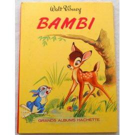 Bambi - Grands Albums Hachette, 1969