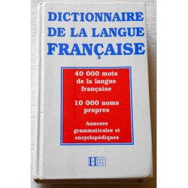 Dictionnaire de la langue française - Hachette, 1995