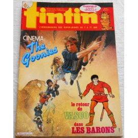 Tintin, hebdomadaire n° 534 du 3 décembre 1985
