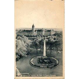 Luxembourg - Monument du Souvenir