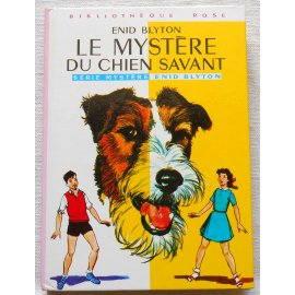 Le mystère du chien savant - E. Blyton - Bibliothèque rose, Hachette 1975