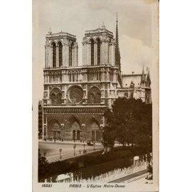 Paris - L'Église Notre-Dame
