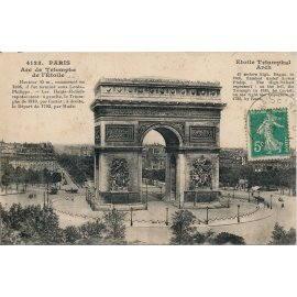 Paris - Arc de Triomphe de l'Étoile