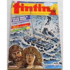 Tintin, hebdomadaire n° 423 du 18 octobre 1983