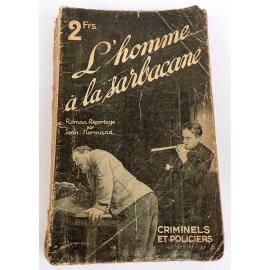 L'homme à la Sarbacane - Jean Normand - Criminels et Policiers, Tallandier