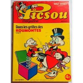 Picsou Magazine n° 61 - Edi-Monde, Walt-Disney 1977