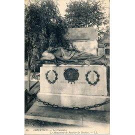 Abbeville - Le Cimetière - Le Monument de Boucher de Perthes