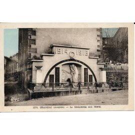 Cransac - Le Monument aux Morts