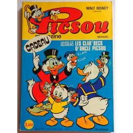 Picsou Magazine n° 43 - Edi-Monde, Walt-Disney 1975