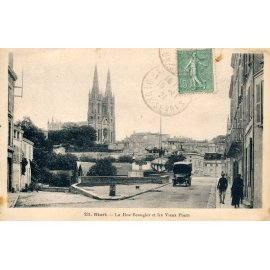 Niort - La Rue Beaugier et les Vieux Ponts