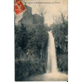 Cascade de Saint-Pierre-Livron