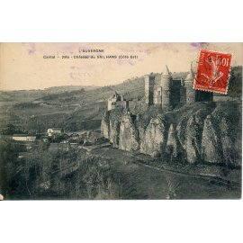 L'Auvergne - Cantal - Château du Sailhans