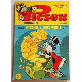 Picsou Magazine n° 26 - Edi-Monde, Walt-Disney 1974