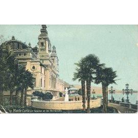 Monte-Carlo - Le Casino et les Terrasses