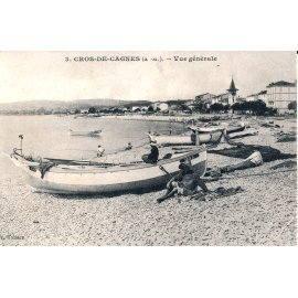 Cros-de-Cagnes - Vue générale