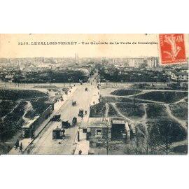 Levallois-Perret - Vue générale de la Porte de Courcelles