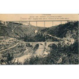 L'Auvergne, Cantal - Garabit - Vue générale du Viaduc