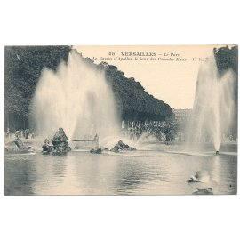 Versailles -  Le Parc - Le Bassin d'Apollon