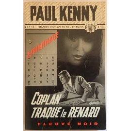 Coplan traque le renard - P. Kenny - Espionnage - Fleuve Noir, 1971