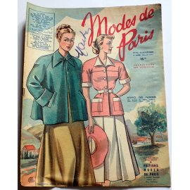 Revue Modes de Paris n° 85, 16 juillet 1948