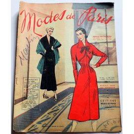 Revue Modes de Paris n° 103, 3 décembre 1948