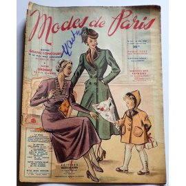 Revue Modes de Paris n° 107, 31 décembre 1948
