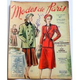 Revue Modes de Paris n° 109, 14 janvier 1949