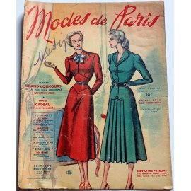 Revue Modes de Paris n° 110, 21 janvier 1949