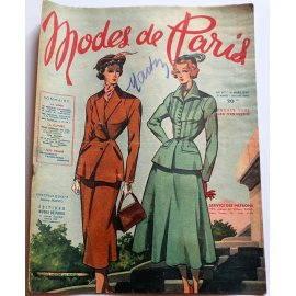 Revue Modes de Paris n° 117, 11 mars 1949
