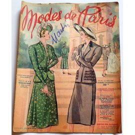 Revue Modes de Paris n° 119, 25 mars 1949