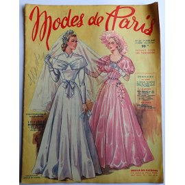 Revue Modes de Paris n° 120, 1er avril 1949