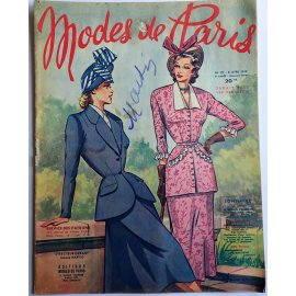 Revue Modes de Paris n° 121, 8 avril 1949