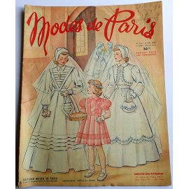 Revue Modes de Paris n° 125, 6 mai 1949