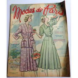 Revue Modes de Paris n° 128, 27 mai 1949