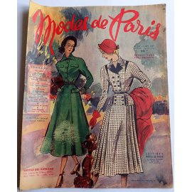 Revue Modes de Paris n° 143, 9 septembre 1949