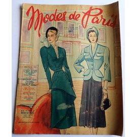 Revue Modes de Paris n° 144, 16 septembre 1949